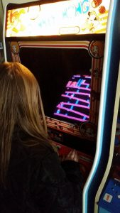 Donkey Kong is currently on Maile's short llist of favorite games.